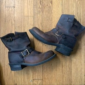 FRYE   Engineer 8R/'Old Town' Boots